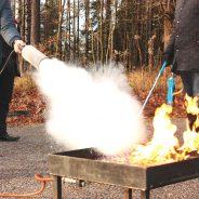 """Brandschutz – Wussten Sie dass Löschdecken """"out"""" sind?"""