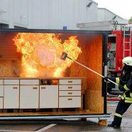 """Neues zum Thema """"Löschdecken bei Fett- und Personenbränden"""""""