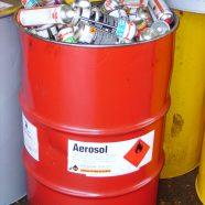 Transport von Spraydosen nach ADR